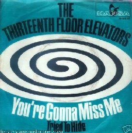 The 13th Floor Elevators are known as being one of the earliest examples of American psychedelia, a position by which they came honestly since Roky Erickson was a dedicated LSD user.  But Erickson also suffered from schizophrenia, receiving electro-shock therapy to treat it, thereby exacerbating his problems. He spent the late 60s and earl 70s in mental institutions, and long stretches on his own in unmedicated states. Yet Erickson's influence on modern rock music caused him to be championed by musical figures as disparate as Billy Gibbons of ZZ Top to the Butthole Surfers.  He was able to make a return to music starting in the 90s after many years of poverty and isolation. He is an active musician today, recently guesting on post-rock band Mogwai's 2007 the Batcat EP.