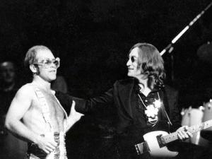 Elton John And Lennon 1974