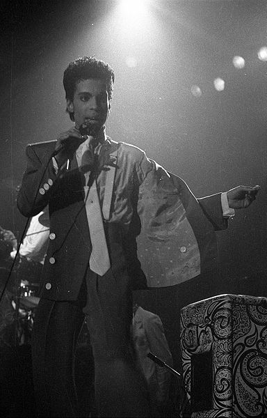 Prince in 1986