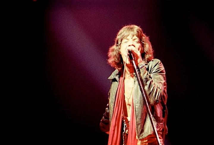 Mick Jagger 1970s
