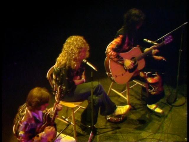 Led Zeppelin at Earls Court Going to California