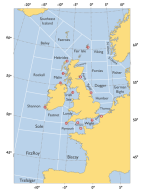 Shipping Forecast Zones