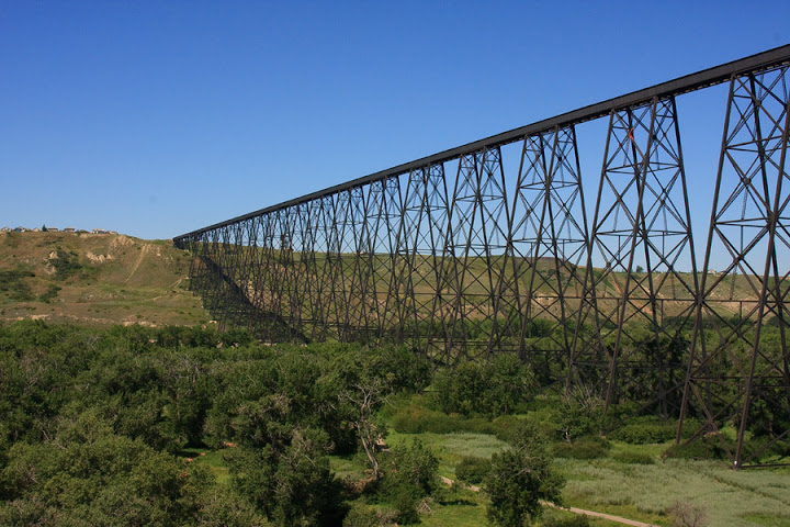 High Level Bridge Lethbridge Alberta