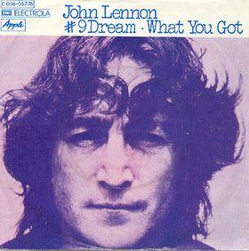Image result for john lennon #9 dream single images