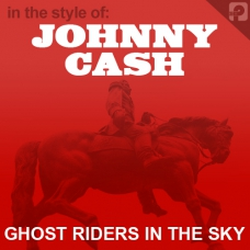 Johnny Cash Ghost Riders In The Sky