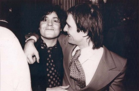 Steve Harley and Marc Bolan