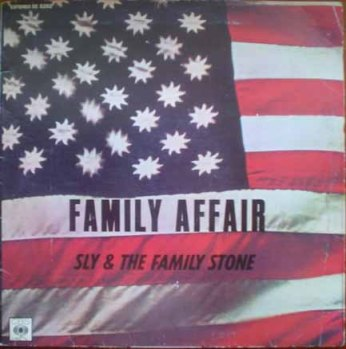 Family Affair single Sly & The Family Stone