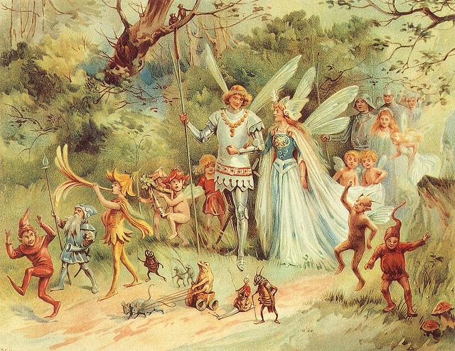 Spring faeries