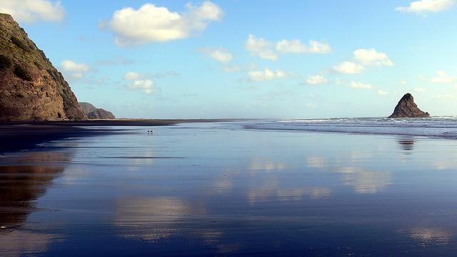 Karekare beach Auckland New Zealand
