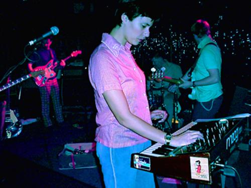 Stereolab on stage
