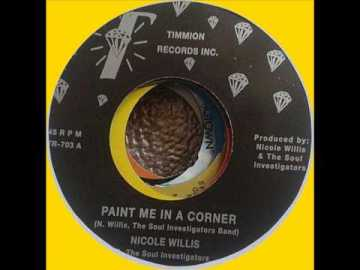 Nicole Willis Paint Me In A Corner single