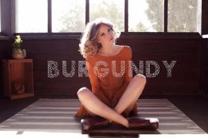 Emily Clibourn Burgundy single